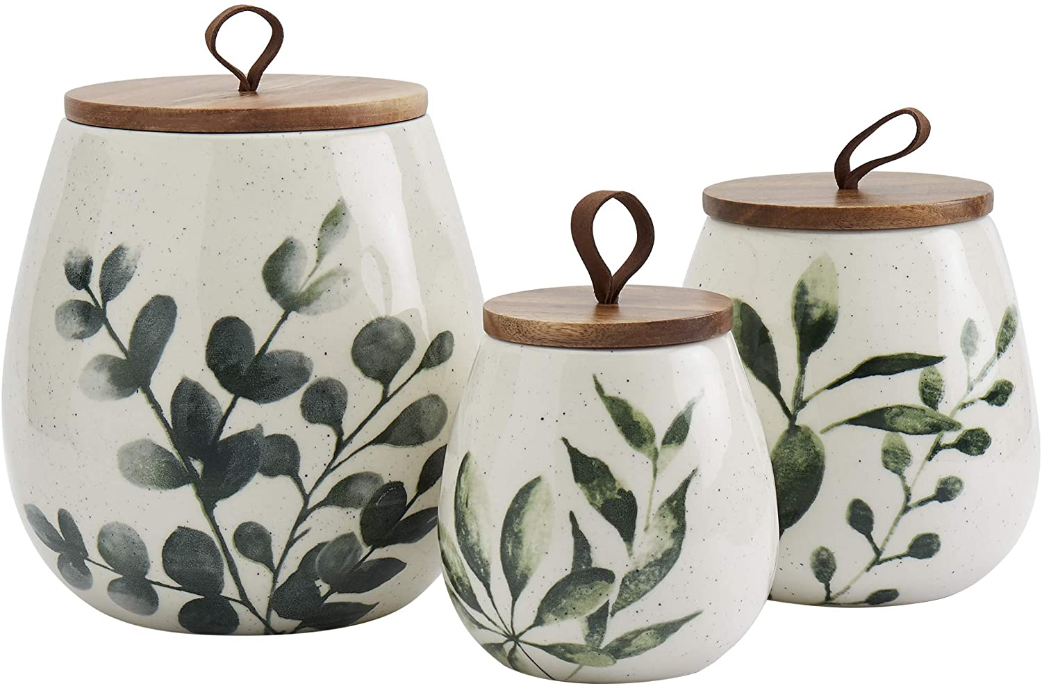 Tabletops Limited price Gallery Ceramic Canister Stoneware cheap Designe Collection-