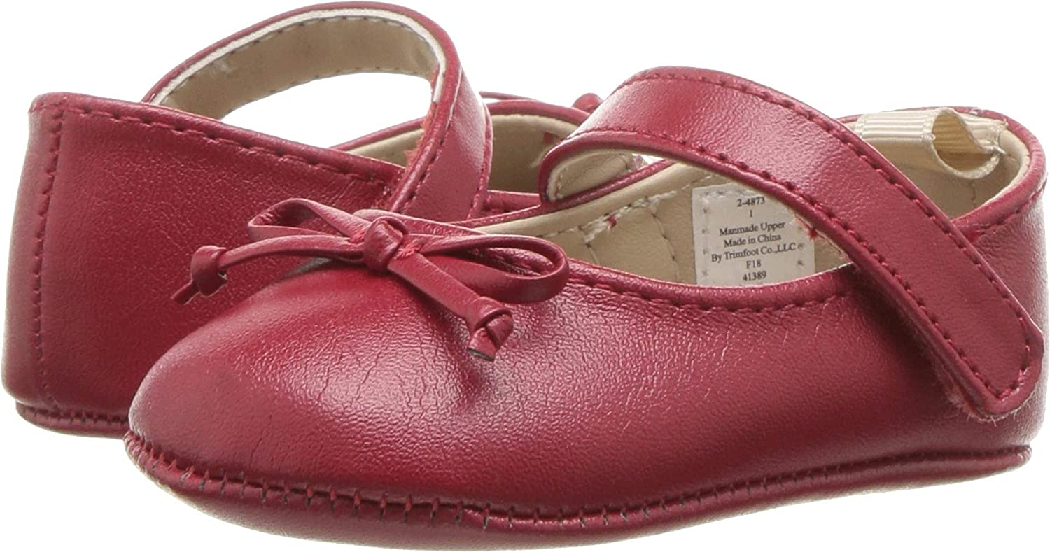 Baby Deer Womens Soft Sole Skimmer with Bow (Infant)