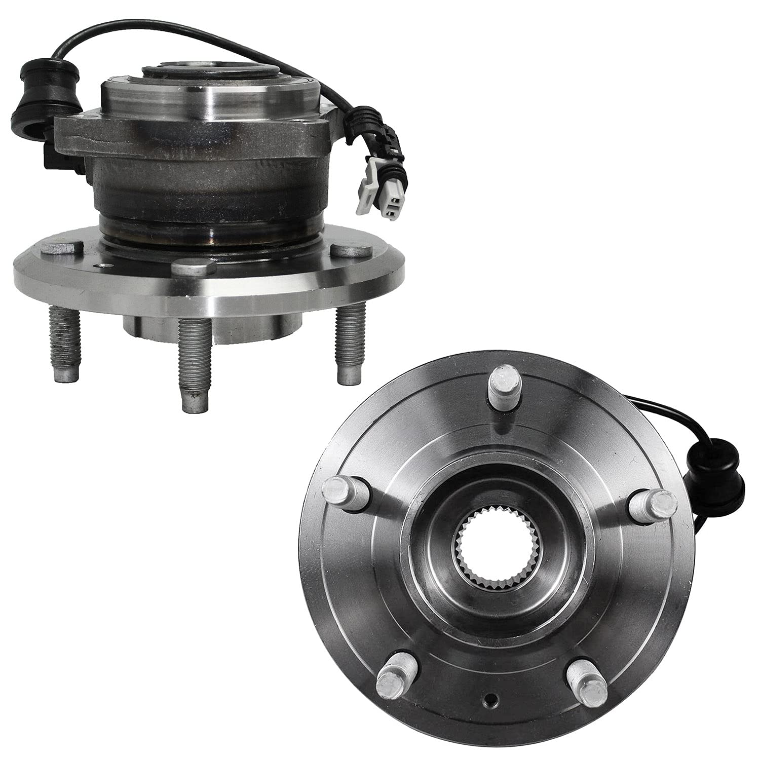 Detroit Axle 512358- Tucson Mall Fashionable Rear Wheel Hub C for Bearing Chevy Assembly