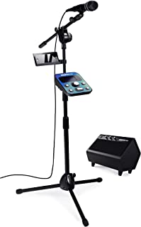 Singtrix Smart Karaoke Party Bundle Stadium Edition. The Karaoke Experience with Automatic Vocal Tuning, Jaw-Dropping Live Harmonies, and Over 375 Built-in Effects, SGTX2