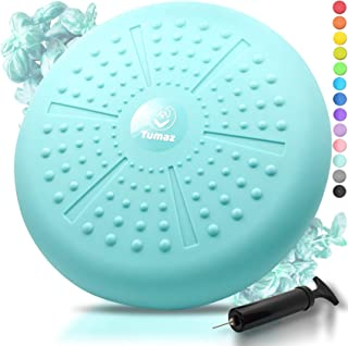 Tumaz Wobble Cushion - Wiggle Seat to Improve Sitting Posture & Attention Also Stability Balance Disc to Physical Therapy,...