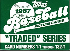 Best 1987 topps traded series Reviews