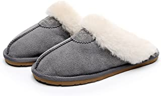 UGG 1978AUS Slippers- Anti-Slip Fluffy Fur Indoor/Outdoor Slippers, Super Warm and Comfort