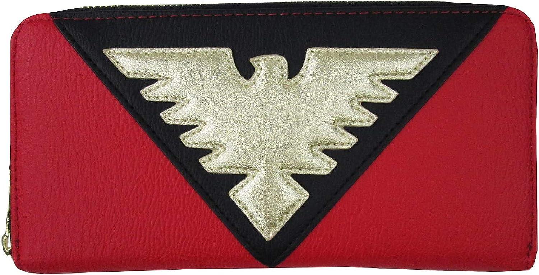Loungefly x X-Men Dark Phoenix Suit Zip-Around Wallet