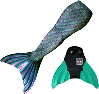 Designer Mermaid Tail + Monofin for Swimming