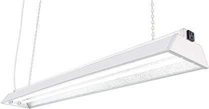 DuroLux DL842N T5 4Ft 2 Fluorescent Lamps Grow Lighting System with 10000 Lumens and 6500K Full SunlightSpectrum and Low Profile 7