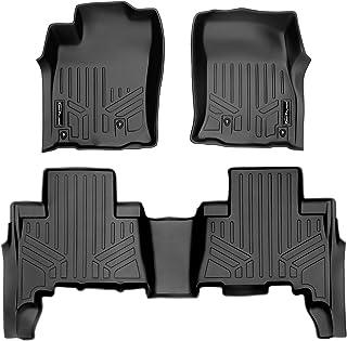 MAXLINER Custom Fit Floor Mats 2 Row Liner Set Black for 2010-2012 Toyota 4Runner / 2010-2013 Lexus GX460