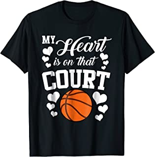 my heart is on that court basketball