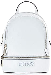 Luxury Fashion | Guess Womens HWSP7411320IVORY White Backpack | Fall Winter 19