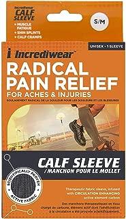 Incrediwear Incrediwear Arm Brace Calf Sleeve Sleeve GREY S/M