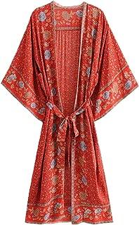 Best red beach kimono Reviews