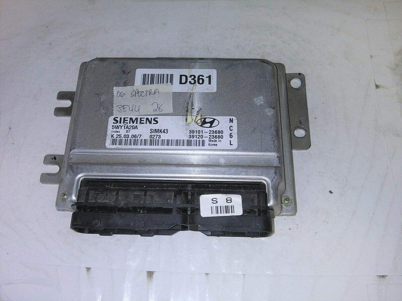 Max 65% OFF ECM fits 2006 Kia 39101-23680 ecu computer Las Vegas Mall Spectra