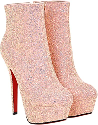 ZHRUI Nuit 42EU) Taille Rose, (Couleuré Chaussures des