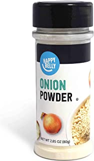 Amazon Brand - Happy Belly Onion Powder, 2.85 Ounces