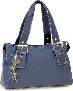 Catwalk Collection Handbags Leder - Umhängetasche/Ledertasche/Schultertasche - JANE