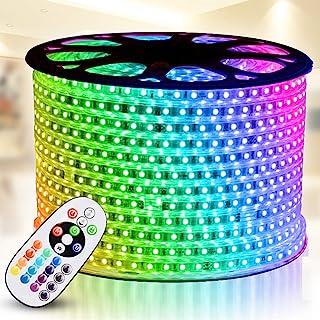 RGB LED Strip Light, IEKOV AC 110-120V