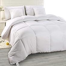 Utopia Bedding Chaude Couette 200x200 cm, Couette en Microfibre (Blanc, 200 x 200 cm)