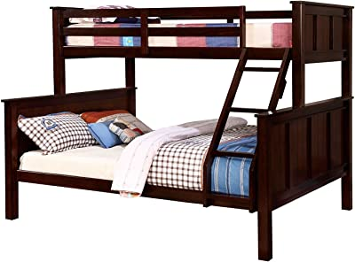 Amazoncom Bunk Bed Twin Over Twin Mission Style In Cappucino With
