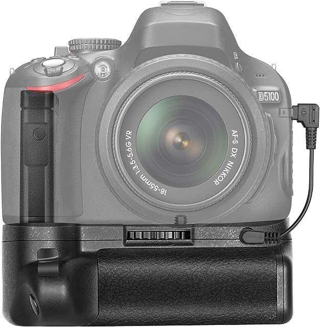 Neewer Pro Battery Grip Empuñadura de Batería para Cámara Nikon D5100/5200 DSLR