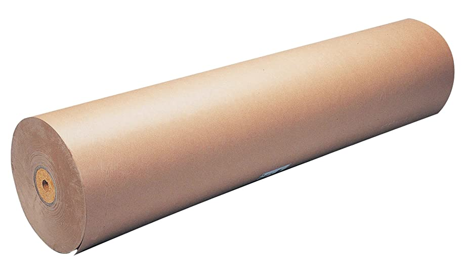 Kraft Clairefontaine Paper Roll, 70 g, 350 x 1 m - Brown