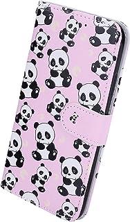 Herbests Kompatybilne z iPhone 11 Pro Max etui na telefon komórkowy skórzane etui retro kolorowy skórzany portfel etui och...