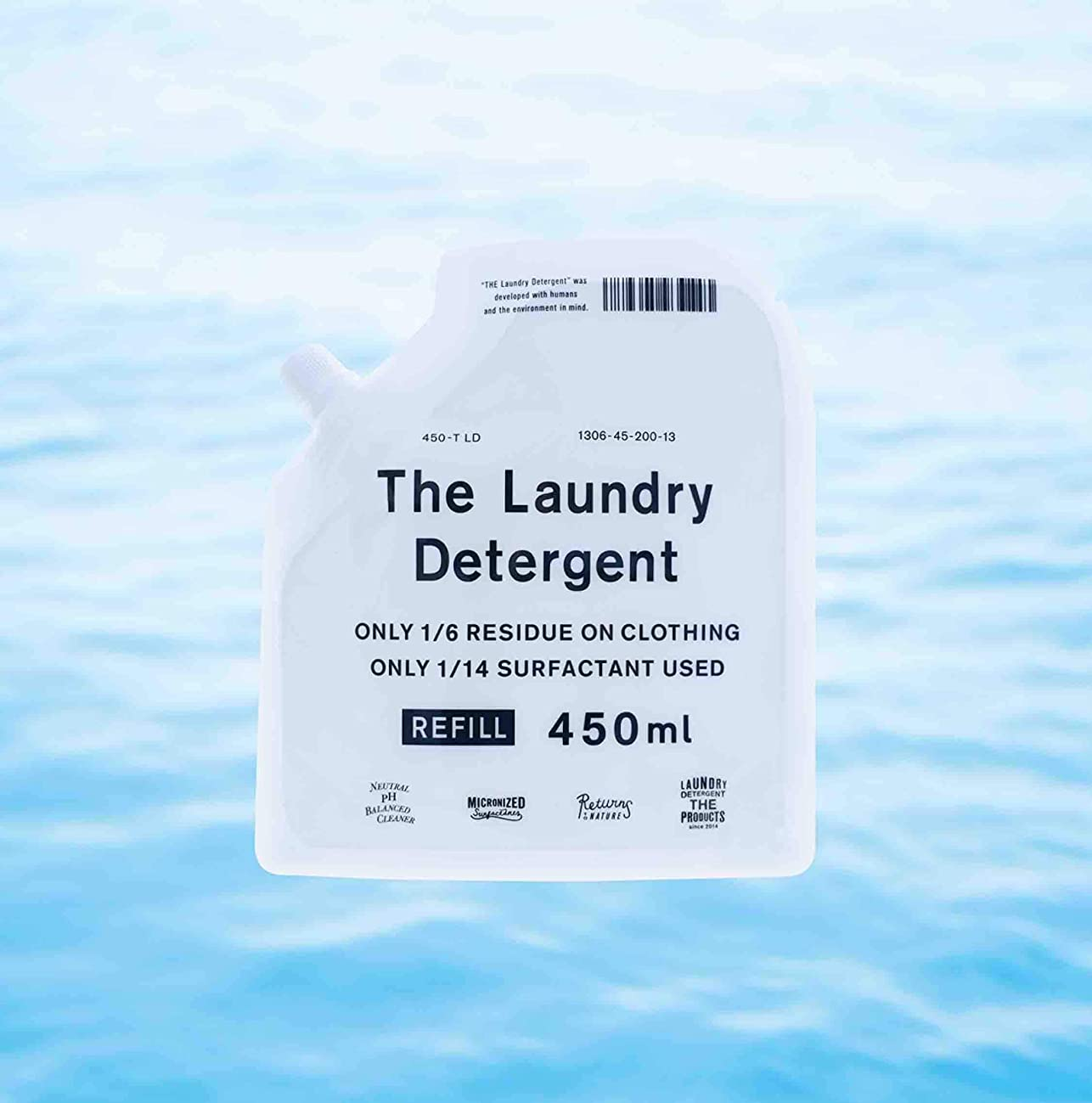 マインドフル策定する啓示THE 洗濯洗剤 詰替用 450ml