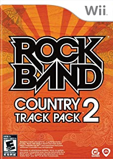 Rock Band Country Track Pack 2 - Nintendo Wii (Renewed)