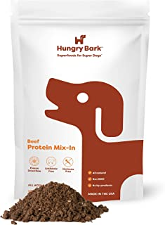 Hungry Bark - Protein Mix Ins for Dry or Wet Dog Food | for Small & Large Dog Breeds | Instant Flavor Topper & Nutritional...