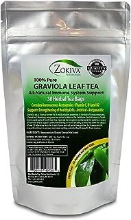 Sponsored Ad - Graviola Tea (30 Bags) Soursop - Annona muricata - Guanabana - Premium Quality 100% Pure Leaf