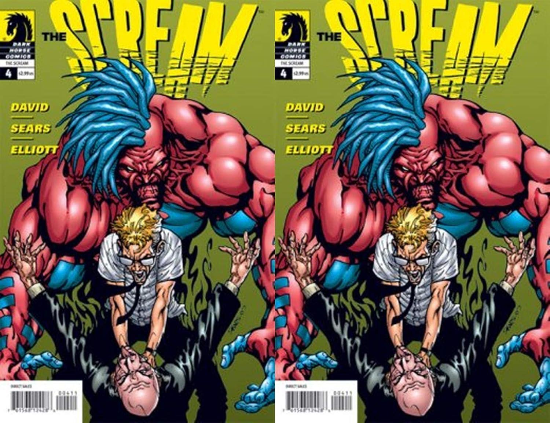 Scream #4 Fort Worth Mall 2007-2008 Dark Finally resale start Horse Comics - 3