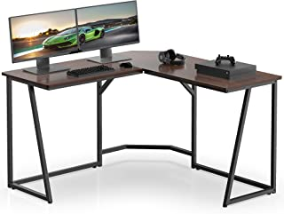 FITUEYES Modern L-Shaped Desk Corner Computer Desk for Home Office Large PC Laptop Gaming Table LCD112501WB