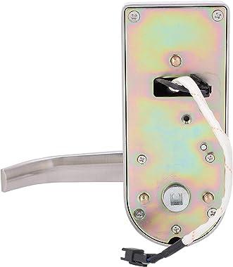 Fingerprint Door Lock 100 Groups Passwords Intelligent Fingerprint Lock Virtual Password Password Keypad Lock with Emergency