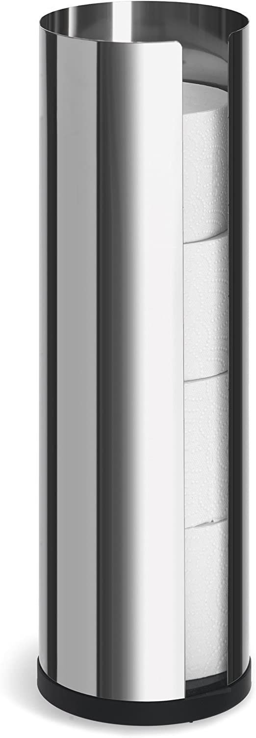 Blomus shop 66658 Polished Stainless Steel trend rank Paper Toilet Ho Roll Spare