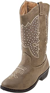 Kensie Girl Girls Western Cowboy Boot (Toddler, Little Kid, Big Kid)