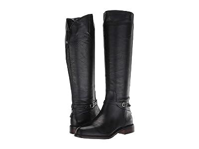 Franco Sarto Haylie (Black Leather) Women