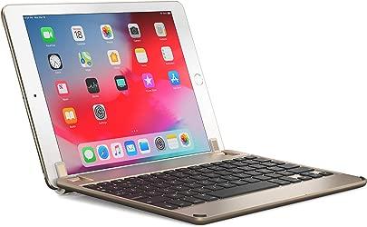 BRYDGE 9 7 Hochwertige Bluetooth Tastatur aus Aluminium deutsches Layout QWERTZ f r das iPad Air Air 2 iPad Pro iPad 2017 und das neue iPad 2018 gold Schätzpreis : 104,22 €