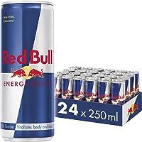 مشروب الطاقة من ريد بول، 250 مل (حزمة من 24 عبوة)
