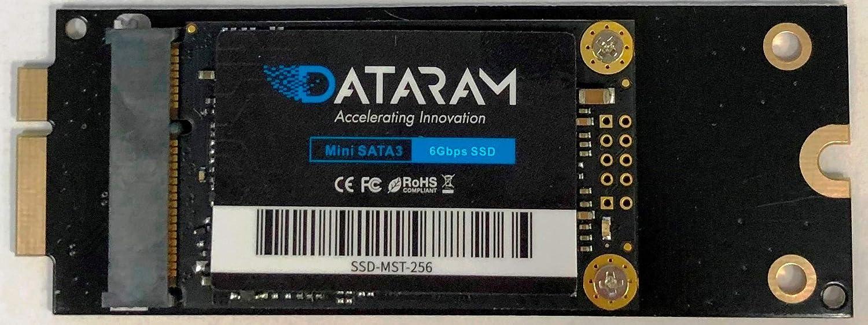 DATARAM 256GB SSD for 2012 Apple MacBook Pro EMC 2512 & EMC 2557, 2013 Apple MacBook Pro EMC 2672 & EMC 2673