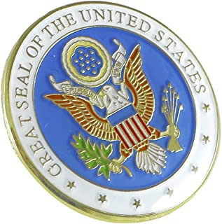 great seal of the united states pin