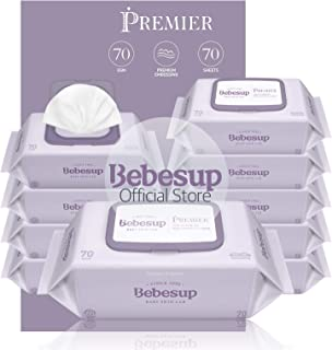 Bebesup Premier Cap 70s Baby Wipes - Carton