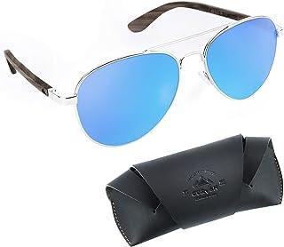 8a2619124c CURVAN - Gafas de Sol Polarizadas Hombre Mujer Unisex | Estilo Aviador |  100% Protección