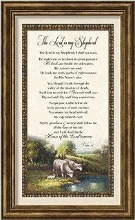 Carpentree 12136 Psalm 23 Classic Framed Art