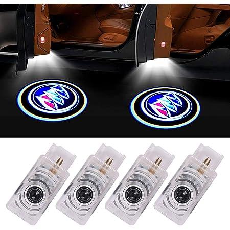 Amazon Com Bearfire Car Door Lights Logo 2pcs Car Door Projector Light Led Welcome Lights Car Logo Suitable For All Models Fit Buick Automotive