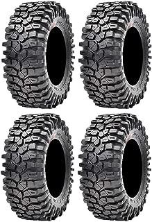 Full set of Maxxis Roxxzilla 396 Radial (8ply) ATV Tires 30x10-14 (4)