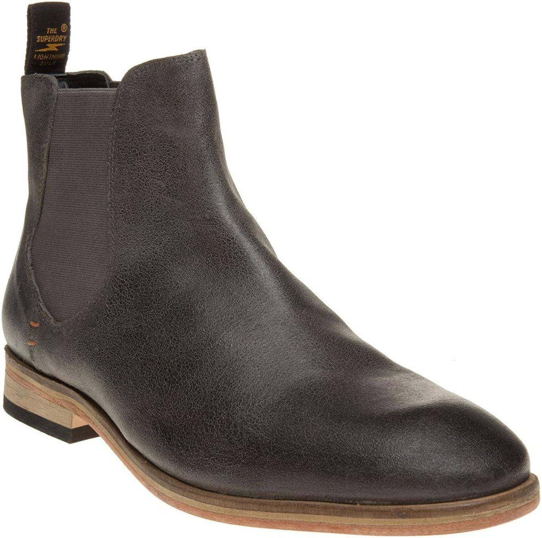 Superdry METEOR CHELSEA Stiefel Schuhe grau