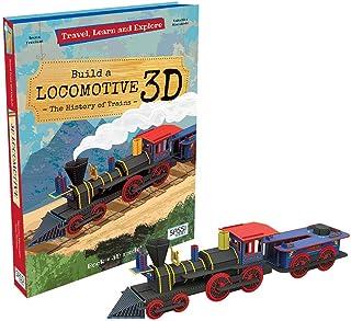 Sassi Junior - Travel Learn & Explore - Build a Locomotive 3D