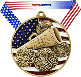 cheer medals and trophies