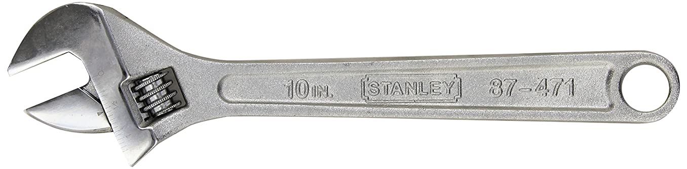Stanley 87-471 10-Inch Adjustable Wrench