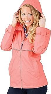 charles river rain jacket monogrammed