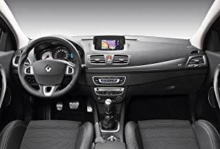Renault Megane Coupe GT (2011) Car Art Poster Print on 10 mil Archival Satin Paper Gray Interior View 36
